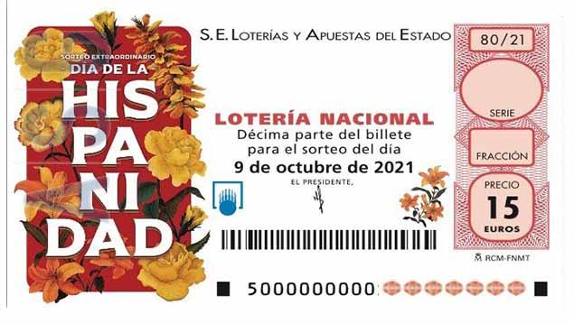 Décimo 02802 del sorteo 80-09/10/2021 Sábado