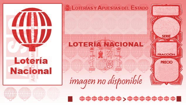 Décimo de Lotería con el número 42612