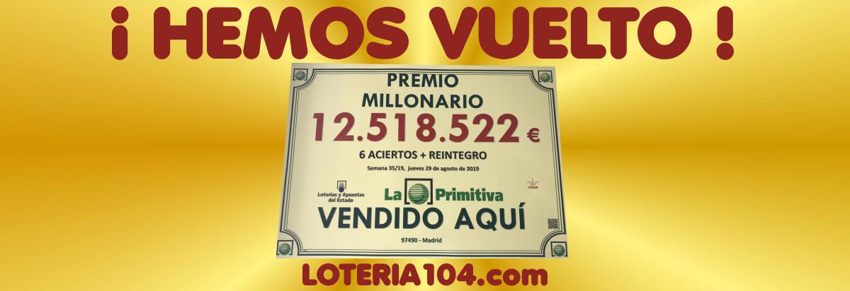 LOTERIA104 MADRID