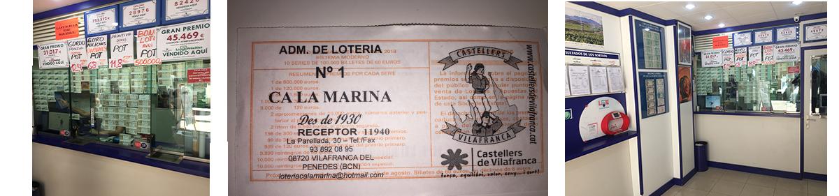 Lotería Ca la Marina