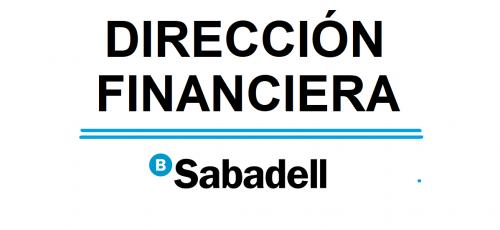 DIRECCIÓN FINANCIERA BANC DE SABADELL