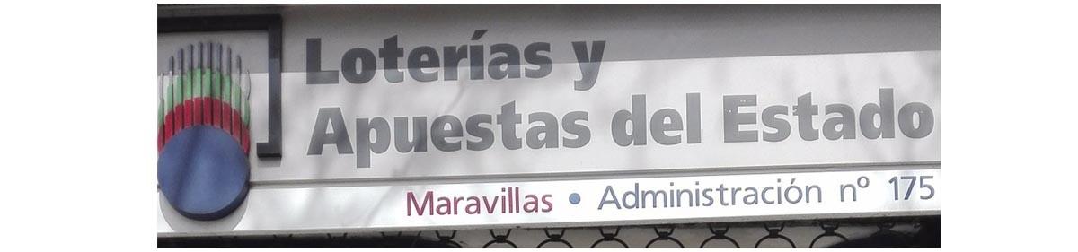 LOTERIA MARAVILLAS