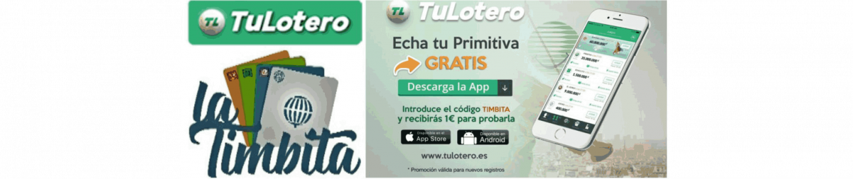 Loteria La Timbita - Admón. nº337 de Madrid