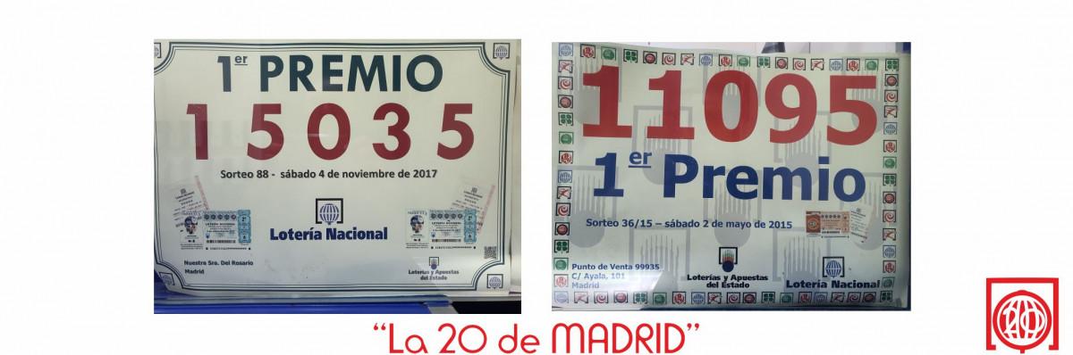 La 20 de Madrid