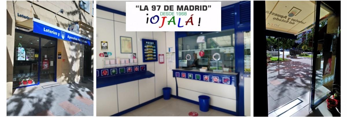 """Lotería """"OJALÁ"""" de Madrid"""
