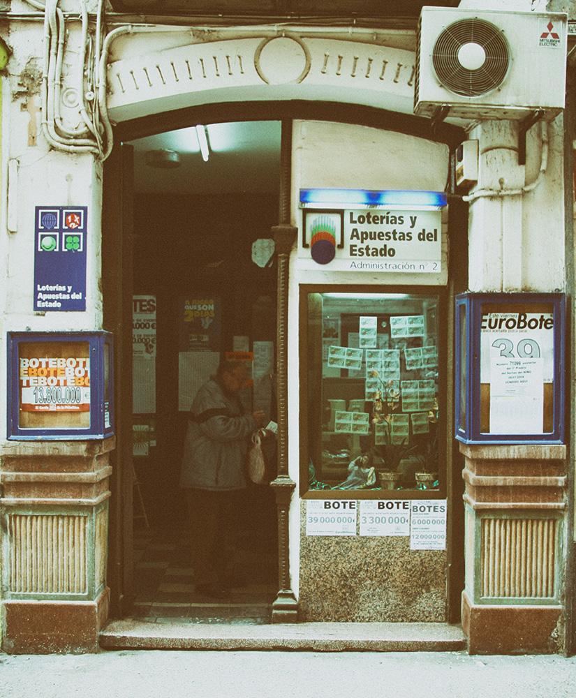 Administracion de loteria numero 2 de Calalatayud