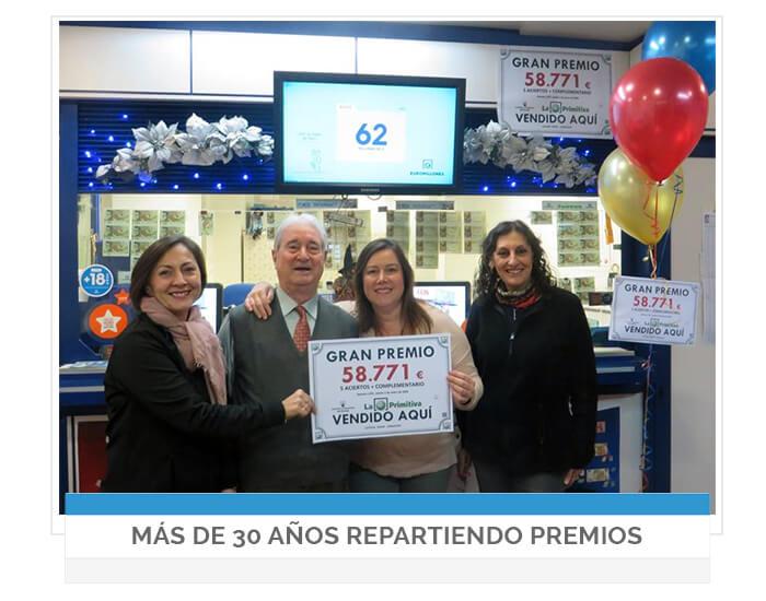 Lotería Roma - Administración nº 29 de Zaragoza